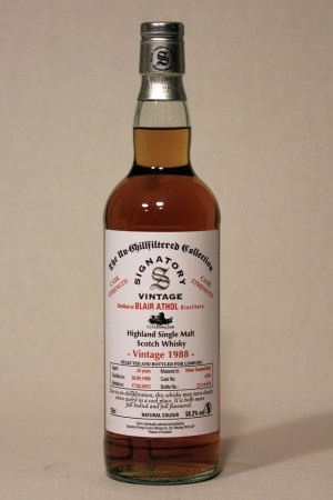 Blair Athol 1988 Signatory for TWF 58,2% vol.